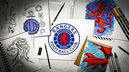 Rangers Fc Glasgow Crest Escudo Identity Nuevo