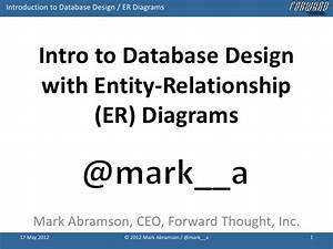 Introduction To Database Design With Idef1x Entity