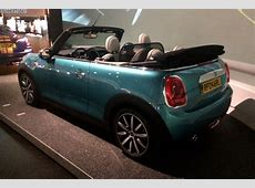 New MINI F57 Cabrio can now be admired at the BMW Welt