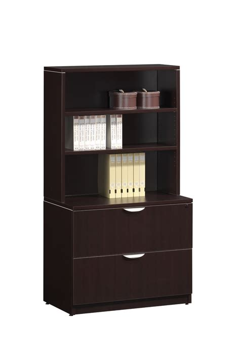 Lateral File Bookcase by Bookcase Lateral File Combo
