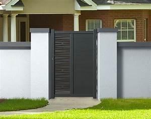 Portillon Bois Jardin : portillon en aluminium portillon bois jardin expression maison ~ Preciouscoupons.com Idées de Décoration