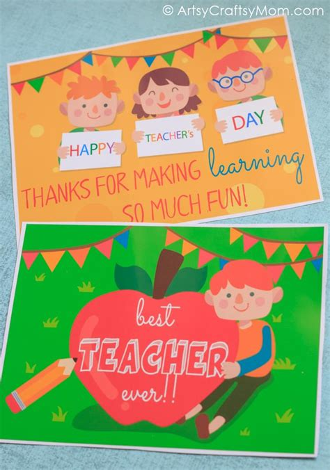 To download your free printable gift card holders, click on the link below. Free Printable Teacher Appreciation Cards