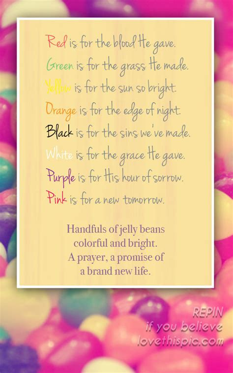 jelly bean prayer pictures   images