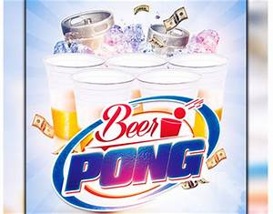 Beer Pong Party Flyer On Behance