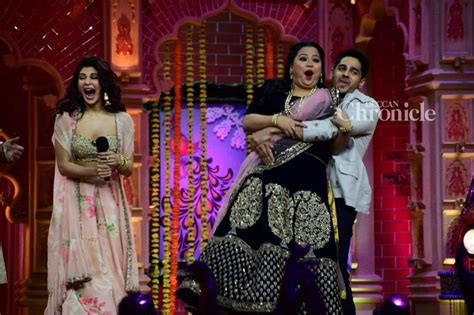 Gentleman Sidharth Lifts Bharti Jacqueline Laughs Her