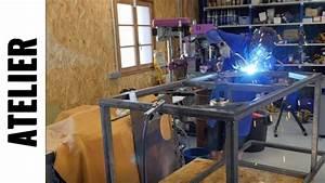 Fabriquer Un établi : fabriquer un tabli de maker partie 1 le m tal ljvs youtube ~ Melissatoandfro.com Idées de Décoration