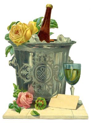 year graphic champagne bucket  graphics fairy