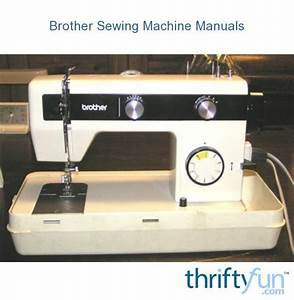 Brother Sewing Machine Manuals