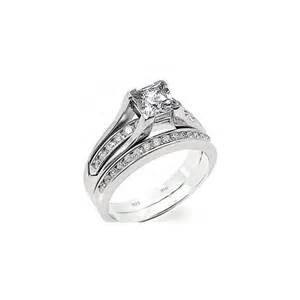 cubic zirconia wedding ring sets cubic zirconia wedding engagement bridal set band ring