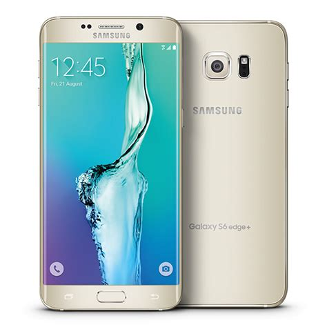 samsung galaxy s6 edge plus 32gb 4g lte 5 7 display android phone for verizon in gold platinum