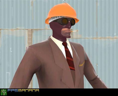 engineer goggleshat  spy team fortress  skin mods