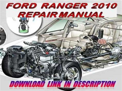ford ranger  repair manual youtube