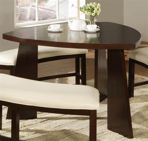 triangle dining table set triangle dining room table marceladick com
