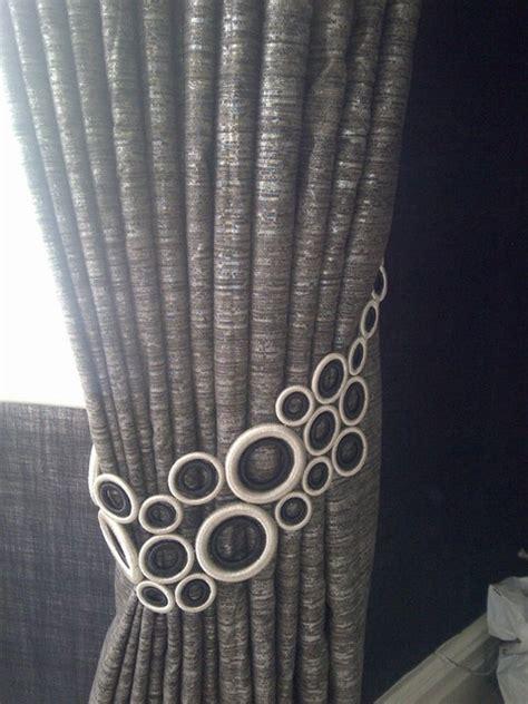 window treatments curtain poles and tie backs