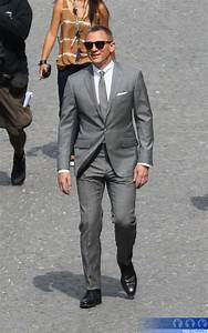 Daniel Craig has been busy filming the 'Skyfall' pretitles ...