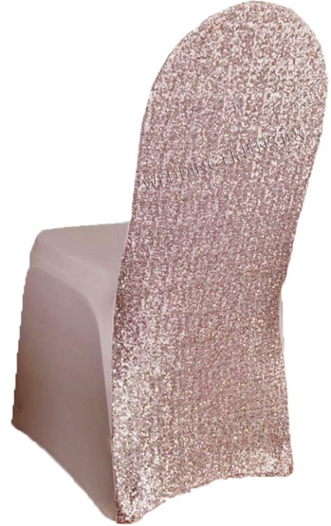 blush pink sequin spandex chair covers wholesale