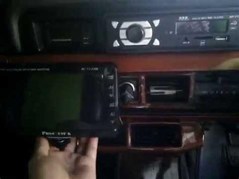 cara memasang lcd tv di dashboard mobil kijang