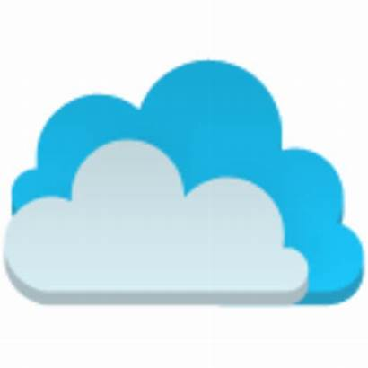 Cloud Icon Flat Server Web Clipart Icons