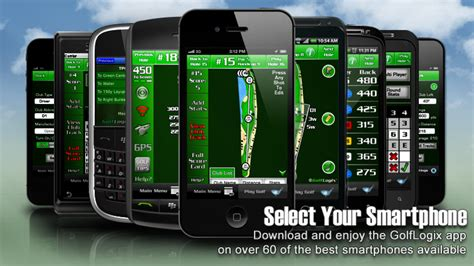 golflogix 1 golf gps app for iphone droid blackberry palm the best gps rangefinder