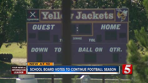board decides fate  grundy county high school football