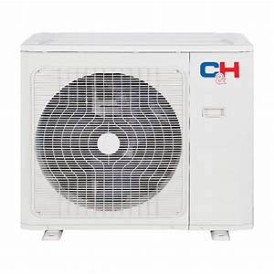 C U0026h 9000 Btu Mini Split Heat Pump Ac Cassette Ducted