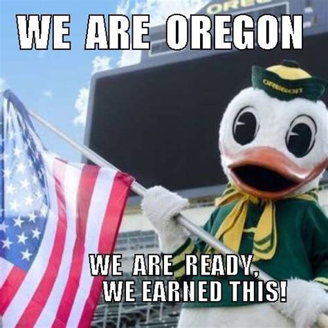 Oregon Ducks Meme - pin by brenda presley iddings on oregon ducks art pinterest