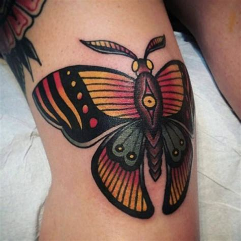 traditional butterfly knee tattoo  tattoo ideas gallery