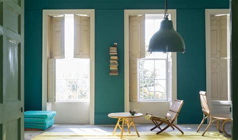 inspiration des interieurs  la deco bleu canard
