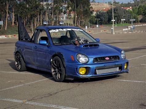 subaru ute mighty car mods has built the subaru ute of our dreams