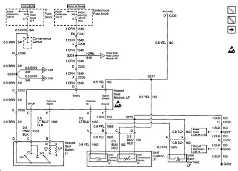 1999 Suburban Wiring Diagram by My Driver S Side Heated Seat Stopped Working In My 1999