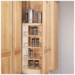 wood kitchen cabinet storage organizer sliding pull out