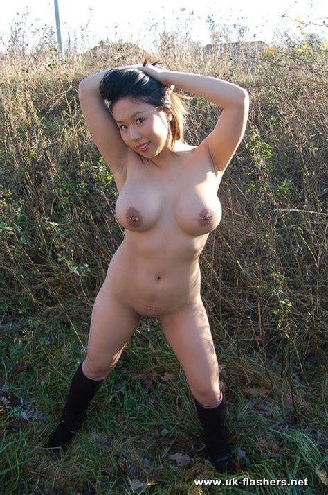 Asian Exhibitionist Tigerr Juggs Public Nudity And Big Tit