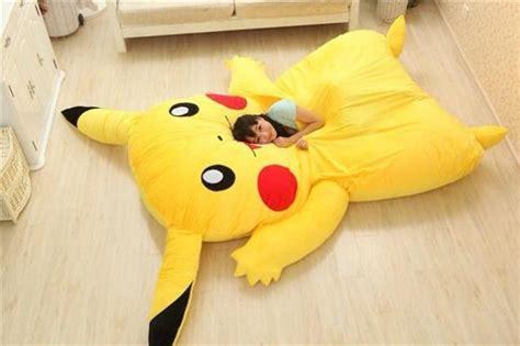 giant pikachu  snorlax pillow beds