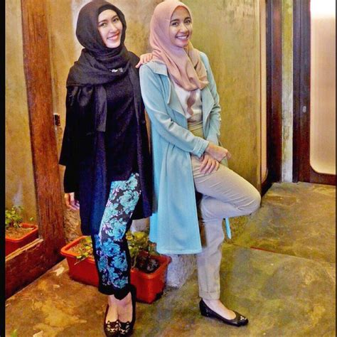 ootd hijab kece laudya cynthia bella cantiknya nge hits