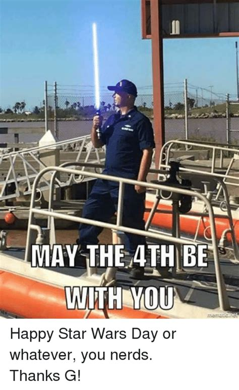 MAY THE 4TH BE WITH YOU E Happy Star Wars Day or Whatever ...