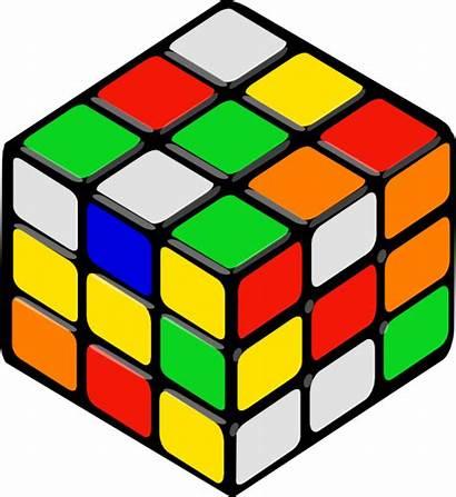 Cube Random Rubik Clip Clipart Svg Clker