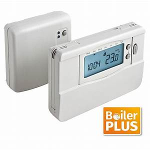 Center Wireless Programmable Room Thermostat