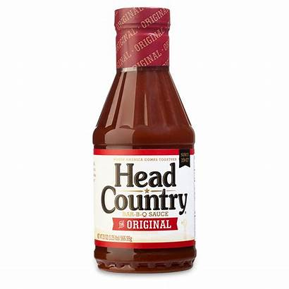 Sauce Bbq Country Head Spicy Barbecue 20oz