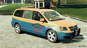 Dodge Grand Caravan Taxi 2008 1 2 For Gta 5