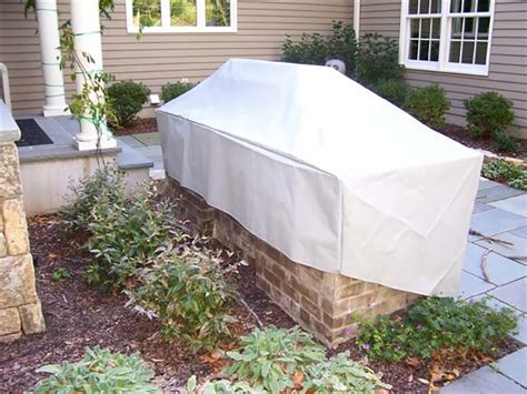 Custom Fabricated Outdoor Kitchen Covers