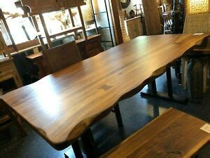 spanish walnut wood dining table    crafted