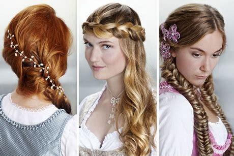 frisuren oktoberfest lange haare