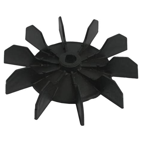 plastic replacement fan blades inner bore 10 impeller air compressor motor fan blade black ts