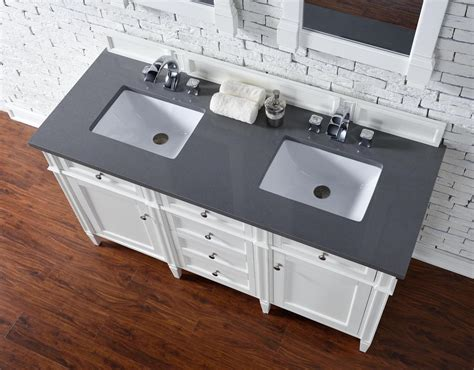 vanity top no sink james martin brittany collection 60 quot double vanity cottage
