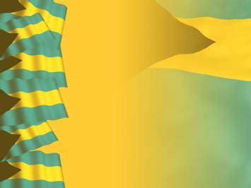 bahamas flag  powerpoint templates