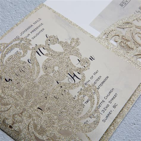 Luxury Champagne Gold Glitter Trifold Laser Cut Pocket. Small Wedding England. Wedding Ceremony Music Wilmington Nc. Wedding Planner And Ideas. Plan Your Wedding With Mindy Weiss App. Garden Wedding Atlanta. North Indian Wedding Invitations. Wedding Stationery Bournemouth. Wedding Expo Queen Mary