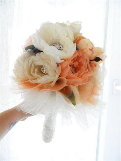 diy silk flower wedding bouquets wedding  bridal