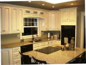 arlington white kitchen cabinets featuring stacker