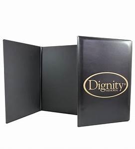 vinyl menus yebo custom binders and folders With vinyl document folders