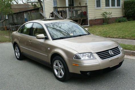 Purchase Used 2004 Volkswagen Passat Glx 4 Motion Sedan 4